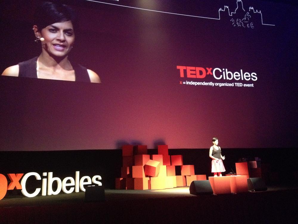 Simran-Sethi-en-TEDx-Cibeles
