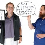 Richard Stallman, free software vs. open source software