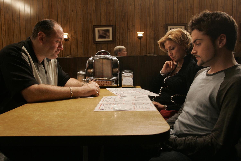 Escena final de Los Soprano