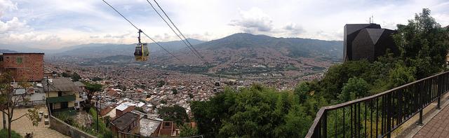 Medellín, vista desde Santo Domingo