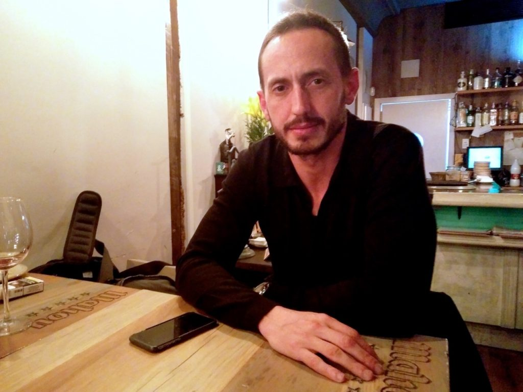 Álvaro de Cózar, entrevistado
